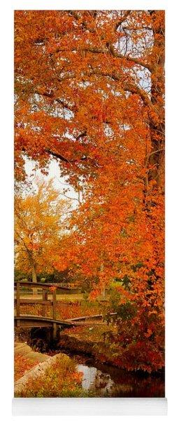 A Morning In Autumn - Lake Carasaljo Yoga Mat