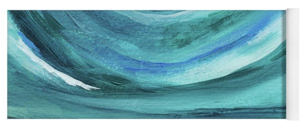 A New Start Wide- Art By Linda Woods Yoga Mat