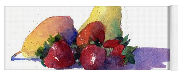 Still Life With Pears Yoga Mat