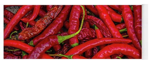 A Peck Of Unpickled Peppers Yoga Mat
