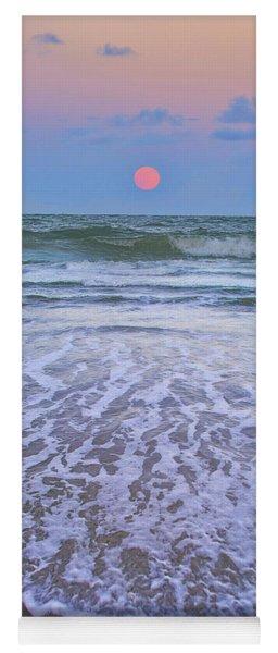 A Pink Moon Hdr Yoga Mat