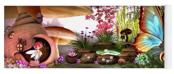 A Pixie Garden Yoga Mat