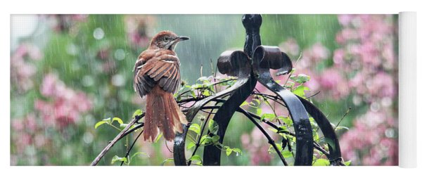 A Rainy Summer Day Yoga Mat
