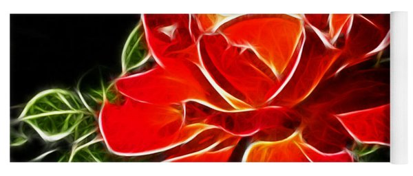 A Red Rose For You Yoga Mat