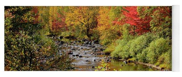 A River Runs Through Yoga Mat