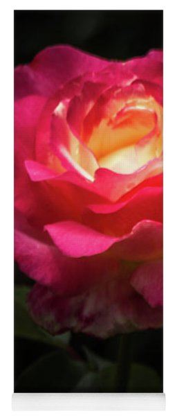 A Rose For Love Yoga Mat