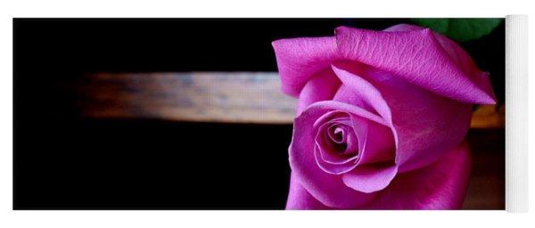 A Single Rose Yoga Mat