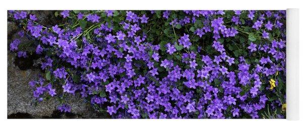 A Splash Of Purple Yoga Mat
