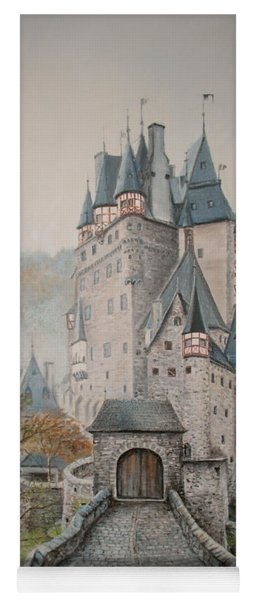 A Story At Eltz Castle Yoga Mat