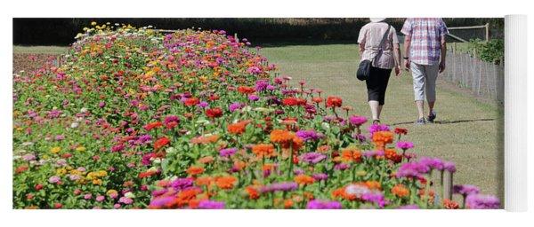 A Stroll In The Garden Yoga Mat