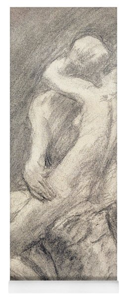 A Study Of Rodin's Kiss In His Studio Yoga Mat