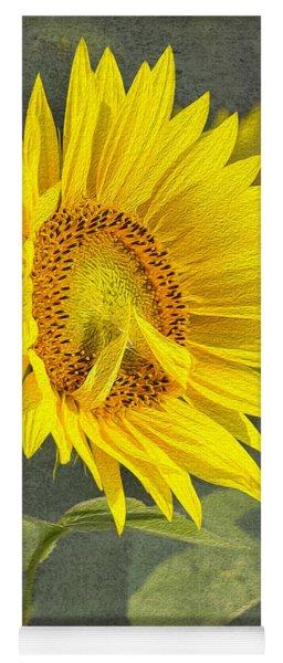 A Sunflower's Prayer Yoga Mat