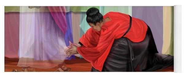 A Touch Of Faith Yoga Mat