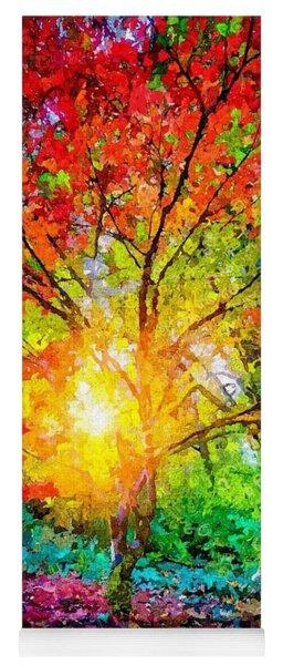 A Tree In Glory Yoga Mat