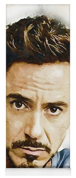 A Tribute To Robert Downey Jr. Yoga Mat