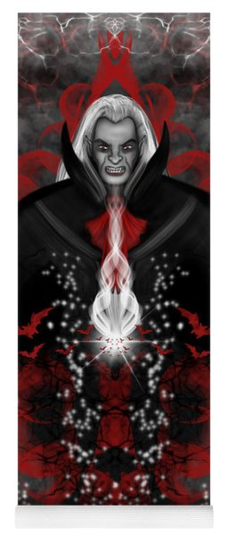 A Vampire Quest Fantasy Art Yoga Mat