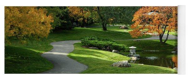 A Walk In The Garden Yoga Mat