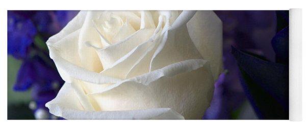 A White Rose Yoga Mat
