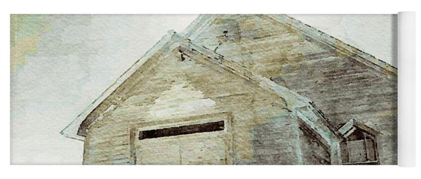 Abandoned Church 1 Yoga Mat