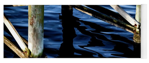 Yoga Mat featuring the photograph Above Water by Eric Christopher Jackson