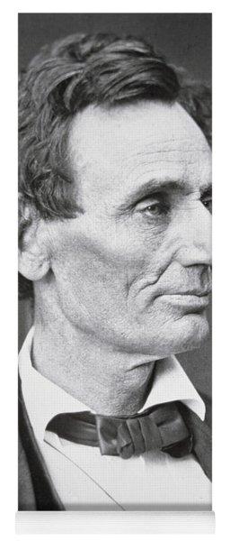 Abraham Lincoln Yoga Mat