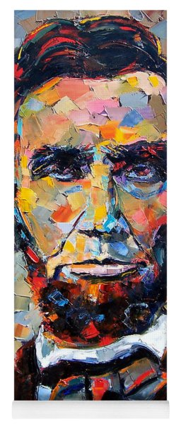 Abraham Lincoln Portrait Yoga Mat