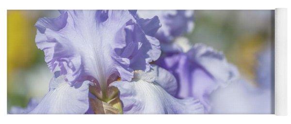 Absolute Treasure 1. The Beauty Of Irises Yoga Mat