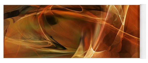 Abstract 060812a Yoga Mat