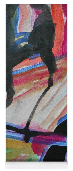 Abstract-5 Yoga Mat