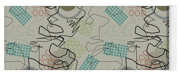 Abstract 8 Yoga Mat