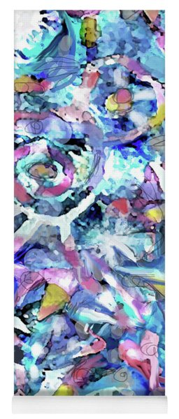 Abstract 82 Yoga Mat