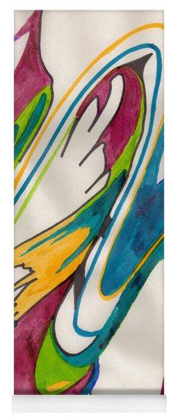 Abstract Art 103 Yoga Mat