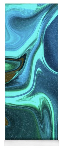Abstract Art Union Vertical Format Yoga Mat