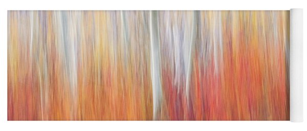 Abstract Autumn Yoga Mat