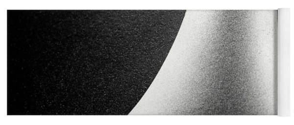 Abstract-black And White Yoga Mat