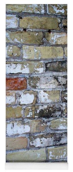 Abstract Brick 10 Yoga Mat