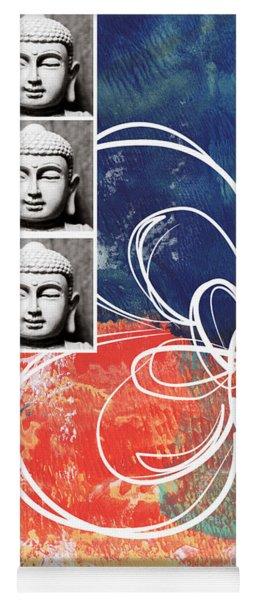 Abstract Buddha Yoga Mat