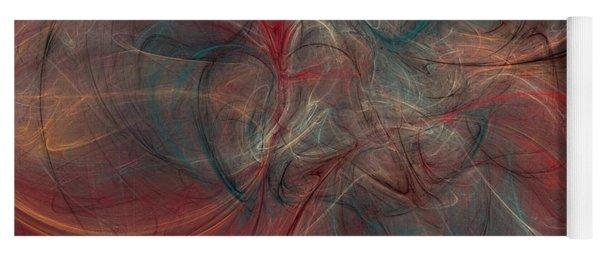 Abstract Chaotica 10 Yoga Mat
