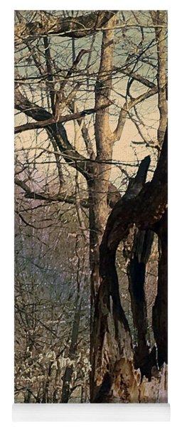 Abstract Dead Tree Yoga Mat