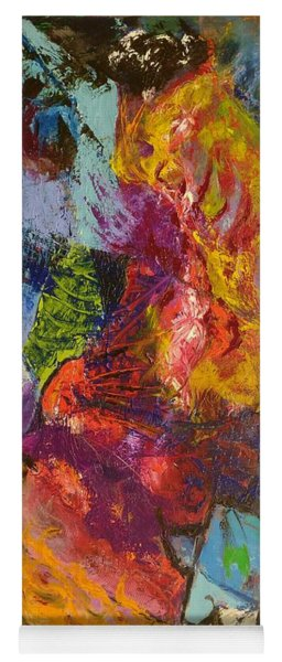 Abstract Depths Yoga Mat
