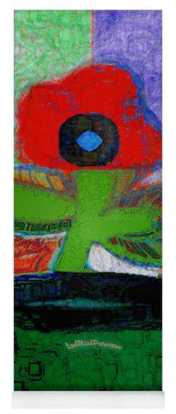 Abstract Floral Art 109 Yoga Mat