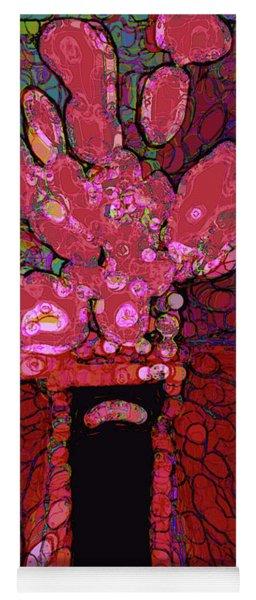 Abstract Floral Art 160 Yoga Mat