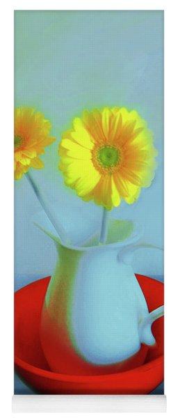 Abstract Floral Art 267 Yoga Mat