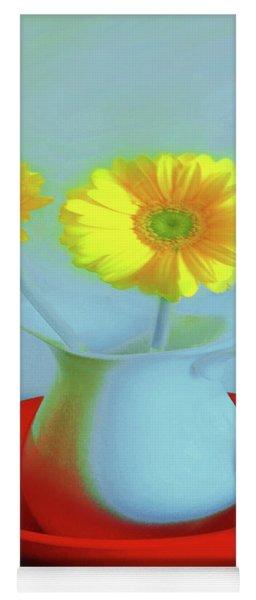 Abstract Floral Art 268 Yoga Mat