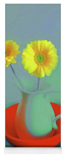 Abstract Floral Art 299 Yoga Mat