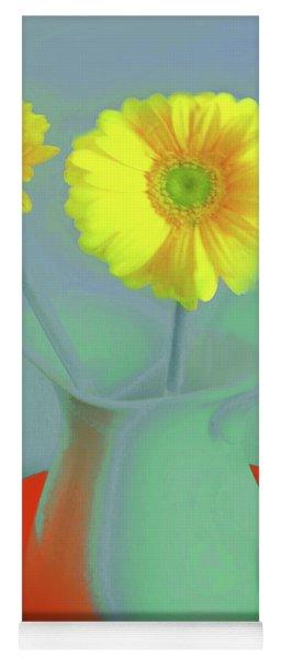 Abstract Floral Art 300 Yoga Mat