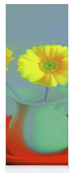 Abstract Floral Art 301 Yoga Mat