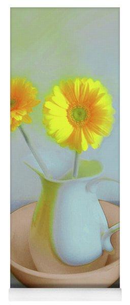 Abstract Floral Art 302 Yoga Mat