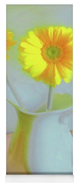 Abstract Floral Art 303 Yoga Mat