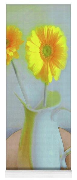 Abstract Floral Art 304 Yoga Mat